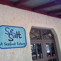 Photo taken at Sea Salt Eatery by J. P. on 10/1/2011