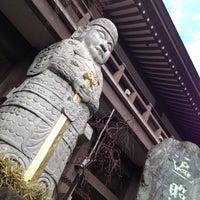 Photo taken at 善養密寺 by Ayumi M. on 3/12/2012