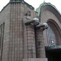 Photo taken at VR Helsinki Central Railway Station by Jyrki L. on 8/28/2011