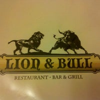 Photo taken at Lion & Bull by Michelle D. on 12/22/2011