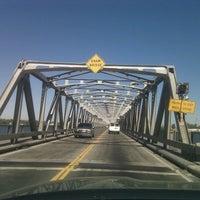 Photo taken at Rio Vista Bridge by Sky on 8/26/2011