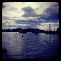 Photo taken at Hjellestad Marina by Sven Thore P. on 6/9/2012