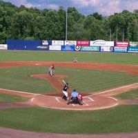 Photo taken at Dutchess Stadium by Scott C. on 7/1/2012