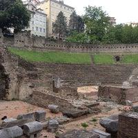 Photo taken at Teatro Romano by Stefano C. on 6/4/2012