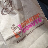 Photo taken at Dunkin' Donuts by Adrian K. on 6/13/2012