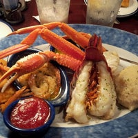 Photo taken at Red Lobster by Katie D. on 7/26/2012