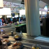 Photo taken at YO! Sushi by Aileen on 9/15/2011
