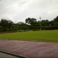 Photo taken at Raffles Institution (JC) Field 1 by Edwina O. on 1/10/2012