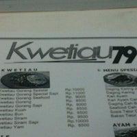 Photo taken at Kwetiau 79 by Krisna D. on 1/6/2012