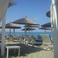 Photo taken at Liberty Beach Bar by Γιωργος Σ. on 9/10/2012