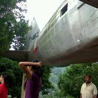 Photo taken at Tugu Trikora by misyel m. on 5/4/2012