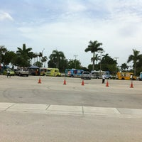 Photo taken at Miami Food Trucks at Sawgrass Ford by Melissa T. on 7/2/2011