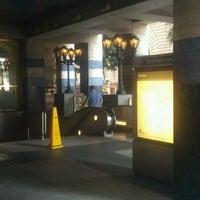 Photo taken at 7th St/Metro Center (Julian Dixon) Metro Station by Gary B. on 6/14/2011