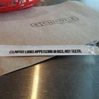 Photo taken at Chipotle Mexican Grill by Herman on 1/8/2012