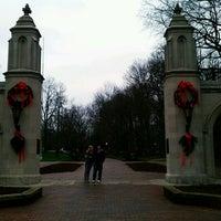Photo taken at Indiana University Bloomington by Nikki J. on 12/22/2011