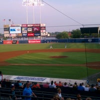 Photo taken at Harbor Park by Mike M. on 7/3/2012