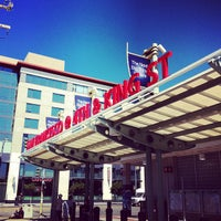 Photo taken at San Francisco Caltrain Station by Greg B. on 7/27/2012
