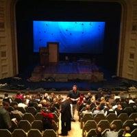 Photo taken at Teater Vanemuine by Karl O. on 1/26/2011