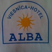 Photo taken at Viesnīca ALBA | Hotel ALBA by Indra on 9/1/2011