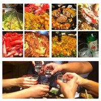 Photo taken at Honey Pig Korean BBQ by Angie V. on 6/16/2012