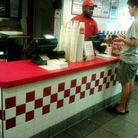 Photo taken at Five Guys by Steven S. on 7/18/2012