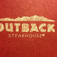 Photo taken at Outback Steakhouse by Tosha J. on 6/28/2012