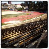 Photo taken at UCLA Drake Track & Field Stadium by Valerie G. on 7/10/2012