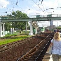 Photo taken at Ж/Д станция Фили by Dmitry D. on 6/22/2012