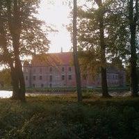 Photo taken at Rosenholm Slot by Erik W. on 10/18/2011