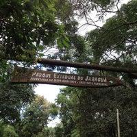 Photo taken at Parque Estadual do Jaraguá by Rafa A. on 5/1/2012