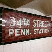 Photo taken at MTA Subway - 34th St/Penn Station (A/C/E) by Ryan N. on 1/30/2011