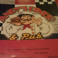 Photo taken at Andy's Diner & Pub by Eva H. on 3/15/2012
