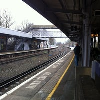 Photo taken at Hither Green Railway Station (HGR) by Eileen N. on 2/11/2011