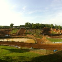Photo taken at Budds Creek Motocross by Jeremy S. on 5/5/2012
