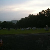 Photo taken at Odd Fellows Cemetary by Richard Z. on 7/4/2011