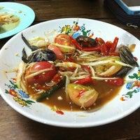 Photo taken at ส้มตำมุกเด็ด ข้างคอนโดเมืองเอก by Nonthacha S. on 3/19/2012