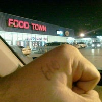 Photo taken at Food Town by Alex D. on 9/7/2011
