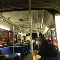 Photo taken at MTA Bus - E 14 St & 2 Av (M14A/M14D) by Richarf S. on 2/8/2012