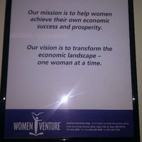 Photo taken at WomenVenture by Kate-Madonna on 11/18/2011