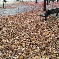 Photo taken at Hoyt Playground by Roberto M. on 11/14/2011