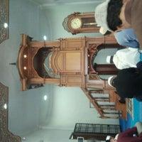 Photo taken at Masjid Kampung Melayu Kangkar Pulai by Abdul malik A. on 9/2/2011