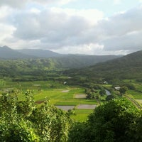 Photo taken at Hanalei Valley Lookout by Fr. Robert B. on 12/30/2011