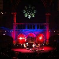 Photo taken at Union Chapel by Kaz P. on 1/30/2012