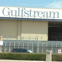 Photo taken at Gulfstream Aerospace by Hurry🆙 on 8/28/2012