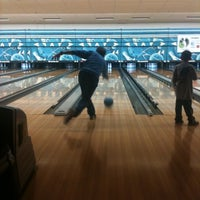 Photo taken at Park Tavern Bowling & Entertainment by Katie Jo K. on 4/22/2012