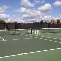 Photo taken at Halton-Wagner Tennis Complex by Karen S. on 10/1/2011