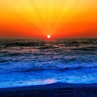 Photo taken at Spiaggia Campeggio Etruria by Stoeps M. on 9/7/2012