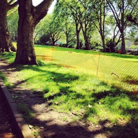 Photo taken at Fulham Palace Gardens by Jamie M. on 7/23/2012