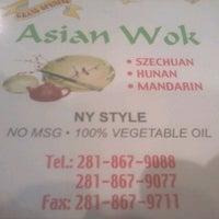 Photo taken at Asian Wok by Jason C. on 4/13/2012