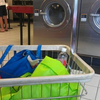 Photo taken at Giant Wash Coin Laundry by Heather B. on 8/14/2012